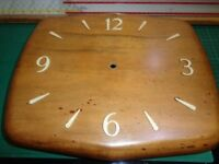 Smiths R69100 Goodwood 10 Inch Timber Wall Clock