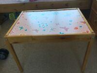 Children's Pine Table