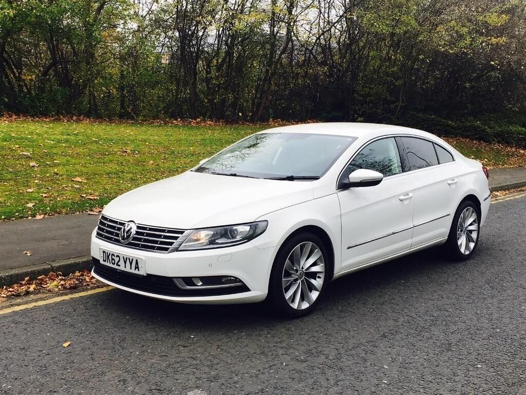 2012 vw passat cc 2 0 tdi bluemotion tech gt white 4dr. Black Bedroom Furniture Sets. Home Design Ideas