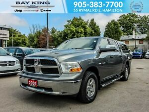 2009 Dodge Ram 1500 1500 SLT, CAP, SIDE STEPS, 4 DOOR 6 SEATER