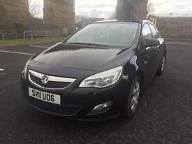 2011 Vauxhall Astra 1.4i Exclusive 5 Door Hatchback 1 Owner Full Service History PX Welcome
