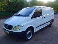 06 reg Mercedes vito 109 cdi 2.1 diesel long wheel base panel van NO VAT