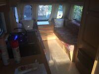 5 Birth Touring Caravan, Electric Swivel Flush Toilet
