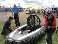 Junior racing hovercraft