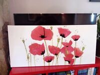 Canvas Print/Poppies
