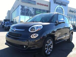 2015 Fiat 500L Lounge - Leather -Panoramic Sunroof - Back up Cam