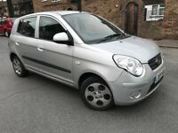 2009 Kia Picanto 1.1 Chill 5 Doors Petrol Long MOT Lady Owner £30 Road Tax Per Year Cheap Insurance