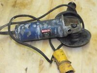 Bosch angle grinder 110volts