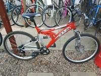 Trax full suspension mtb one of many quality bicycles for sale