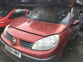 RENAULT SCENIC DYNAMIQUE DCI 120 2004- FOR PARTS ONLY