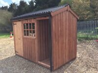 New 10 x6 Wooden garden shed in the heritage style