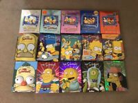 The Simpsons DVDs 15 seasons