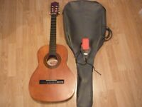 Stagg classical, case and strap,3/4