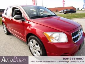 2009 Dodge Caliber SXT **CERTIFIED ACCIDENT FREE** LOW KM $6,999