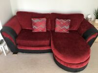 Brilliant Two Seater Sofa - Ideal For Apartment Living or New Home.