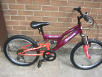GIRLS MOUNTAIN BIKE SUIT 6 TO 8 YEARS