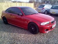BMW 325ci, FULL MOT, LOW MILES, ( CREDIT,DEBIT CARDS ACCEPTED)