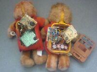 2 X Teddy Ruxpins for spares