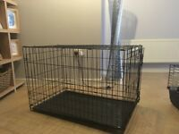 Dog crate for sale only used a hand full of times! Medium size