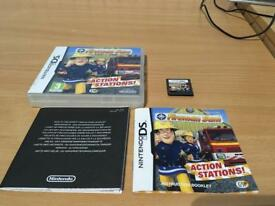 FIREMAN SAM - NINTENDO DS/DSI/2DS/3DS COMPLETE