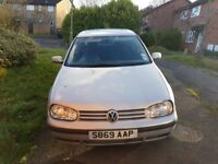VW Golf mk4 Spare or repairs
