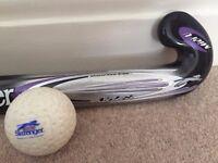 Slazenger Hockey Stick, Bag & Ball