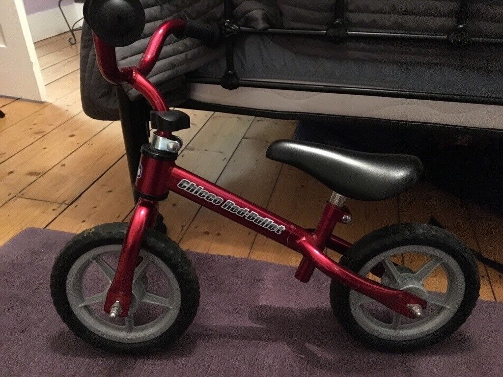 Red Chicco Bullet Balance Bike In Oxford Oxfordshire