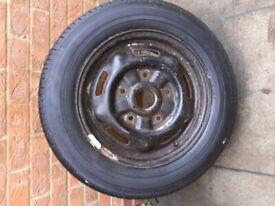 brand new tyre on wheel for mercedes sprinter van