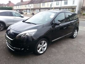 UBER READY*7SEATS*Renault Grand Scenic 1.5 LEATHER*PCO Registered*£20 Road tax, SATNAV, BEST PRICE