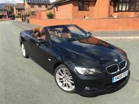BMW 320D CONVERTIBLE M SPORT BLACK