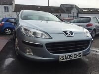 ***FREE DELIVERY***2009 PEUGEOT 407 SE HDI 2.0L DIESEL***ONE OWNER***LOW MILEAGE***MOT MARCH 2017***