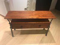 Side Table/Console Mahogany
