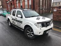 2007 Nissan Navara Diesel Manual 2.5 outlaw dci PX Swap damaged spares repair