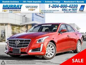 2014 Cadillac CTS 3.6L Luxury *Leather Seats, Rear View Camera,