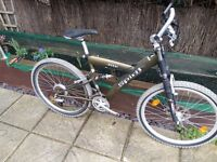 Adults full suspension mountain bike in great condition