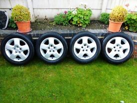 VAUXHALL WHEELS & TYRES, 215/55/16 £100