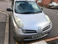 Nissan MICRA 1,2 SILVER 2003 £300 CHEAP RUN AROUND
