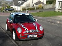 Mini Cooper 1.6 Auto 3dr - Previously owned by Topper Headon (The Clash)