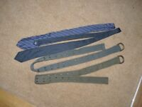 free to collect. belts & ties