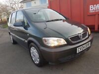 VAUXHALL ZAFIRA LIFE 16v AUTO,, 7 SEATER ,,2 KEYS ,,CLEAN AND TIDY,,£950