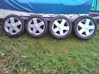 Ford Fiesta Alloy Wheels and Tyres