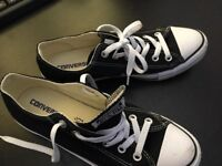 Converse CT all star Ladies trainers Size 7and half. Black and white