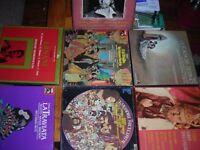 lots opera records, verdi,beethoven Ix, mozart & more