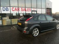 ONLY 69K MILES !!! 2007 07 FORD FOCUS 2.5 ST-2 5D 225 BHP **** GUARANTEED FINANCE **** PART EX WEL