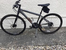 Voodoo Marasa hybrid Bicycle as new condition, excellent spec.