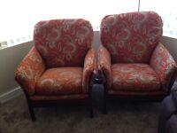 2* sofa chairs