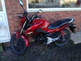 Honda CB125F one owner from new Low Mileage