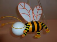 2 Bee Ceiling Lights