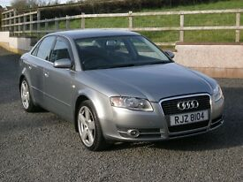 Sept 2006 Audi A4 SE 1.9 TDi, Grey, Mot'd April 2018, Excellent Cond, with New Clutch &Timing Belt