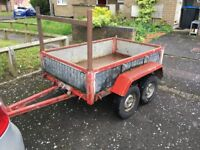 double wheel base trailer